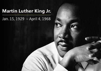 Happy Birthday to Dr. Martin Luther King, Jr.